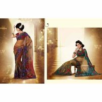Full Net Designer Fancy Sarees