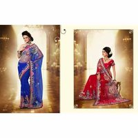 Designer Fancy Net Sarees