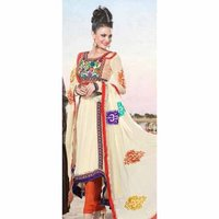 Exclusive Georgette Churidar Kameez