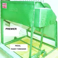 Pedal Paddy Thresher