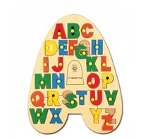 Alphabet Tray With Knobs