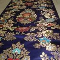 Silk Handloom Brocade Fabrics