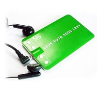 Credit Card Shape MP3 Player