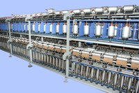 Embroidery Thread Doubler Machines