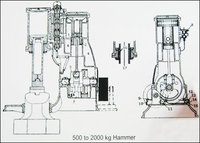 Pneumatic Hammer Machine (500 To 2000 Kg)