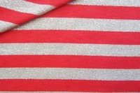 Cotton Knitted Striped Fabric