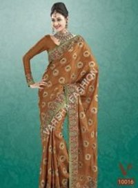Designer Chiffon Saree