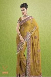 Ladies Designer Chiffon Saree
