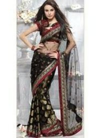 Designer Embroidery Sarees
