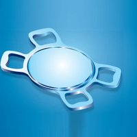Single Piece Intraocular Lens