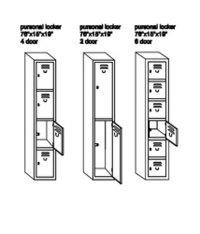 Personal Locker Storage
