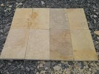 Yellow Lime Stone Slabs