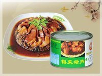 Canned Pork With Preserved Vegetable