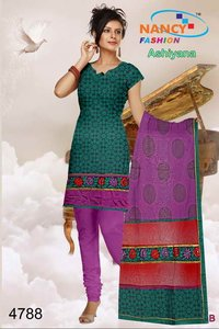 Unstitched Punjabi Suit