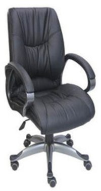 Black Low Back Chair