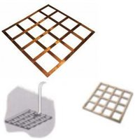 Earth Plate Lattice Copper