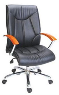 Revolving Leather Executive Chair