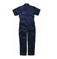 Short Sleeved Cotton Overalls