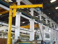 Piller Mounted Jib Crane