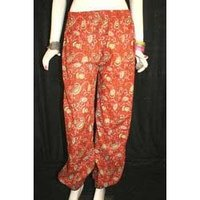 Cotton Straight Trousers