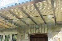 Outside Steel Canopy