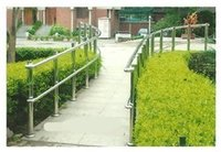 Stainless Steel Garden Railing