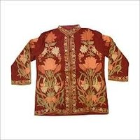 Embroidered Woolen Jacket