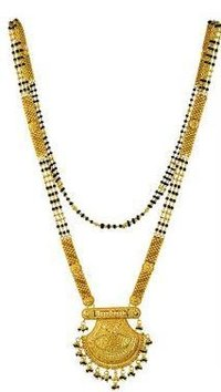 Long (30 Inch) 22K Gold Mangalsutra
