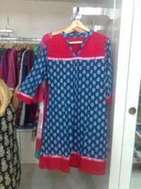 Embroidered Woolen Kurtis