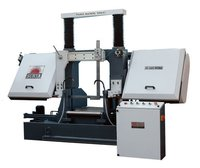 Semi Auto Band Saw Machine