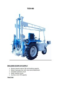 Tractor Mounted Rig Tcr 80