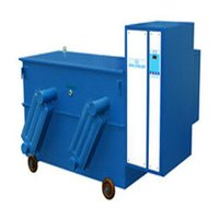 Three Phase Oil Cooled Servo Voltage Stabilizer With Fin