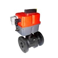 2 Piece Ball Valve Electric Actuators