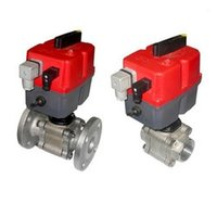 3 Piece Ball Valve Electrical Actuators