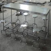 8 Seater Canteen Dining Table