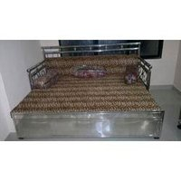 Stainless Steel Designer Sofa Cum Bed