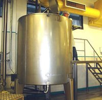Butter Oil Melting Tanks