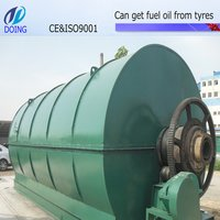 Waste Tyre Pyrolysis Plants for Fuel Oil