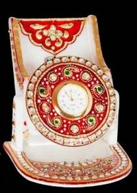 Marble Mobile Holders With Watch