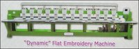 Dynamic Flat Embroidery Machine