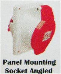 Pannel Mounting Socket Angled
