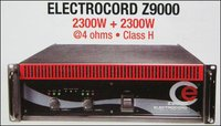 Professional Power Amplifier (Electrocord Z9000)