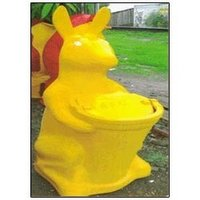 FRP Rabbit Dustbins