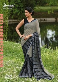Pure Fancy Crepe Saree