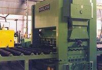 Heavy Duty 9 Roller Plate Straightening Machine (2500 mm Span x 18 mm)