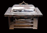Latest Stainless Steel Rectangular Chafing Dish