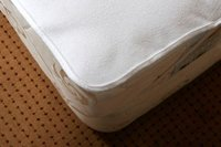 Waterproof PVC and Vinyl Coated Terry Mattress Protectors