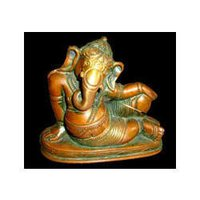 Ganesh Lying Hand On Knee