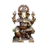 Ganesh Sitting Large Statue
