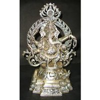 Ganesh Standing With Ring
